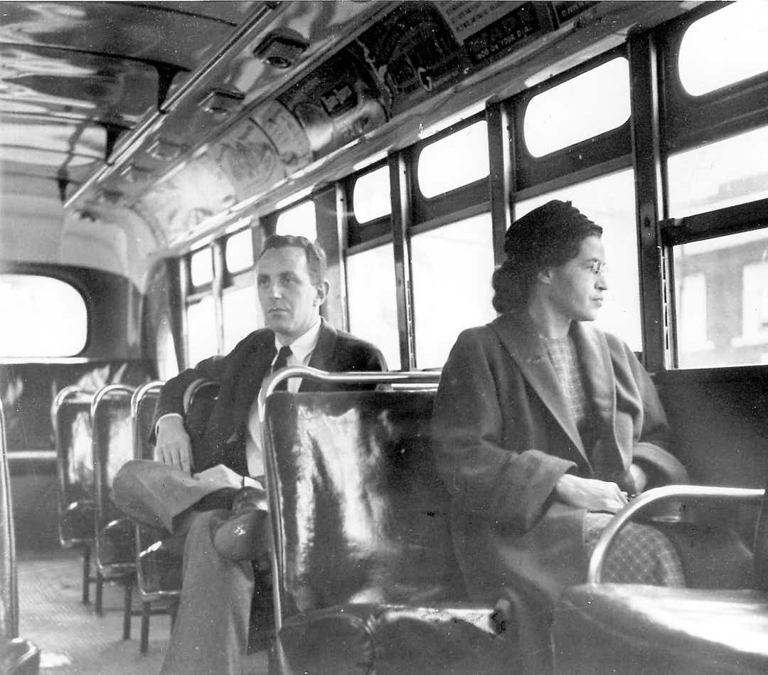 Rosa Parks . Unite Press International file photo